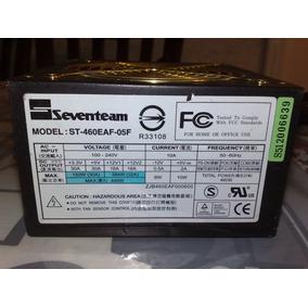 Fonte Atx Seventeam St460ead-05f 445 Usada 90d Garantia