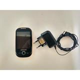 Celular Samsung Corby Gt S6350 Edge, Carregador, Funcionando