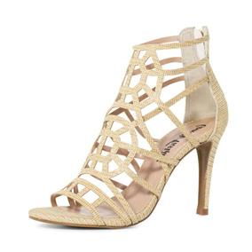 38ec04b4b Sandalias Femininas Para Casamento Prata - Sapatos Dourado no ...