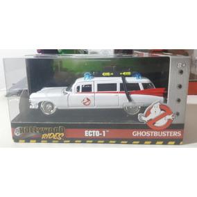 Caça Fantasmas Ecto-1 - Hollywood Rides Miniatura - 1:32 -