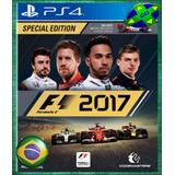 F1 17 2017 Formula 1 - Ps4 Original 1 - Português Envio Já!