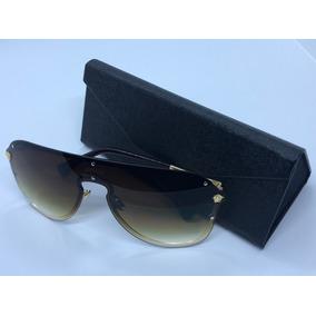 e47c5c95ebef6 Oculos De Sol Modelo Mascara Versace - Óculos no Mercado Livre Brasil