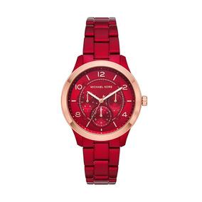 Relogio Michael Kors Fundo Vermelho - Relógios no Mercado Livre Brasil 641ef59c99