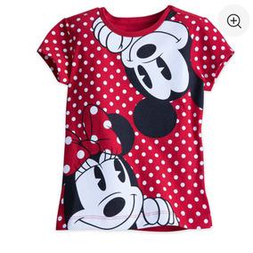 Polo Minnie Mouse Y Mickey Disney Para Niñas