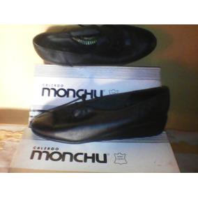 Calzados Monchu Ortopedico Dama Cuero Negro 40 Marrón 42 43