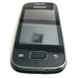Samsung S5301b Galaxy Pocket Preto 3g 2mp | Usado B1