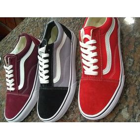 Zapatos Vans Old School Originales Para Damas Y Caballeros