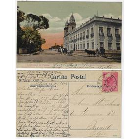 Rs 1906 Cartão Postal Santa Casa De Misericórdia Em Pelotas