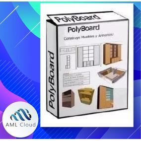Polyboard Pro V6.04j Software Para Diseño De Muebles Español