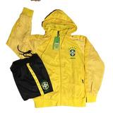 Agasalho Seleção Brasileira Amarelo no Mercado Livre Brasil 87c46ef613757