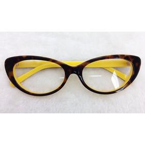Armação Óculos Grau Feminino Discreta Grande Oferta A026 b2a0ded40a