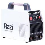 Máquina De Solda Inversora 200a Tig 200a 220v Rzms09008 Razi