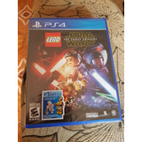 Star Wars The Force Awakes - Ps4 - Sellado