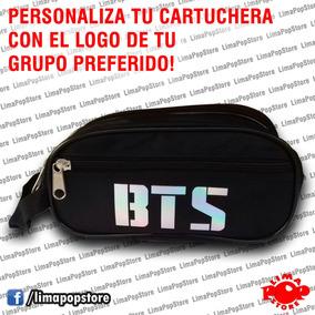 Cartuchera Kpop, Con El Logo Que Prefieras! Bts Exo Y Mas!