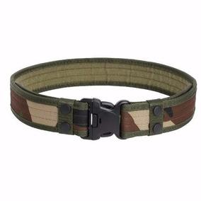 Cinto Tático Militar Padrao Exercito Cinturao Com Regulagem 64bd107be3e