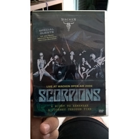 Dvd Scorpions - A Nigth To Remember
