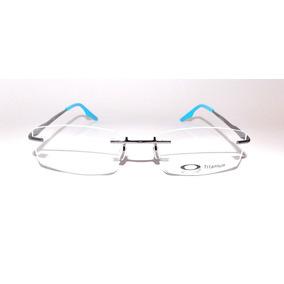 Óculos De Grau Masculino Ox7216 Metal Retangular Azul Barato ee081e83c1