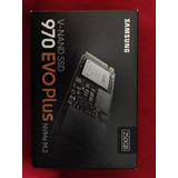 Nuevo-sellado Samsung Ssd 970 Evo Plus M.2 Nvme 250 Gb