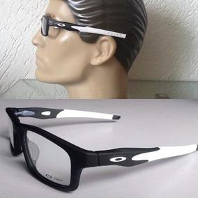 Armação Óculos De Grau Oakley Crosslink Gray Smoke + Frete - Óculos ... b32201d4d2