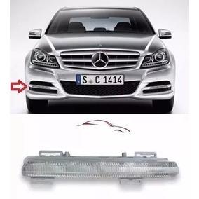 Farol Milha Led Mercedes C180 C200 Slk E 2012/2014 Esquerdo