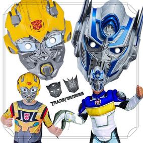 12 Máscaras Transformers Para Lembrancinhas De Aniversário