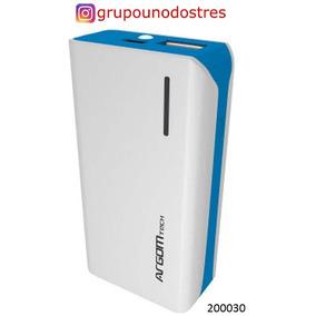 200030 Cargador Bateria Externo Argom 5000mah Cable Usb A