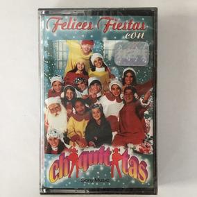 Chiquititas Felices Fiestas - Cassette Nuevo Sellado