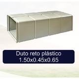 Duto Plastico Reto P Climatização E Outros 1500x450x650 Mm