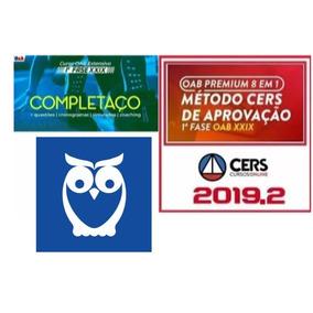 Combo Oab Xxix 29 + Xxviii 28 Primeira Fase 2019 Ceisc
