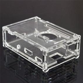 Case Cover Raspberry Pi 2 Pi 3 Pi2 Pi3 Acrílico Transparente
