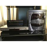 Sansui Portatil + Cabezal Lg + Dvd Panasonic