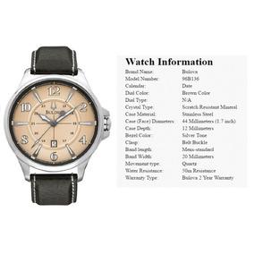 Relógio Importado Original Bulova 96b136