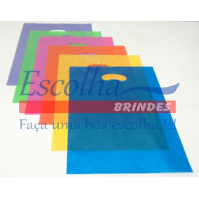 Sacolas Plásticas Personalizadas 500 Un 30x40 E 500 Un 36x48