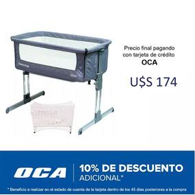 Cuna Colecho Bebesit Side By Side Aluminio + Mosquitero