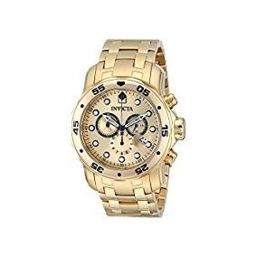 Relógio Invicta Original Banhado A Ouro 18k - Modelo 0074