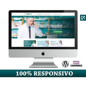 Site Completo Para Farmácias E Drogarias + Loja Integrada