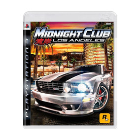 Midnight Club Los Angeles Ps3 Mídia Física + Pôster Brinde