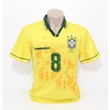 Camisa Brasil 1994 - Futebol no Mercado Livre Brasil 1aad4c5f39d79