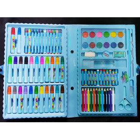 Estojo Escolar De Pintura Infantil Com 86pçs Para Menino