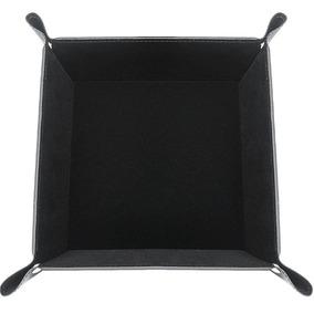Black/velvet Inner - Pu Cuero Cabecera Almacenamiento O-8316