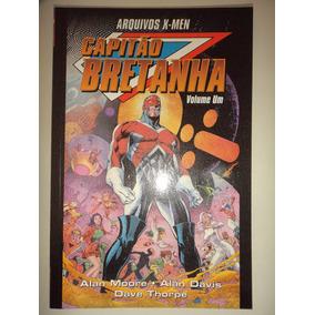 Arquivos X Men Capitao Bretanha Volume Um Pandora Books Exce