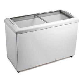 Freezer Horizontal Metalfrio 336l Tampo De Vidro Hf40s 220v