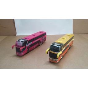 02 Ônibus Turismo / Viagem - Cod. 14 - Perez Ferromodelismo