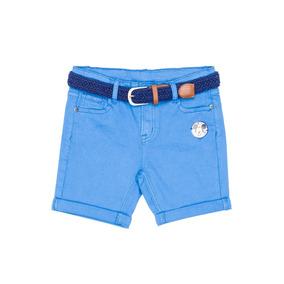 Bermuda Cinturón Mickey Azul Dijon