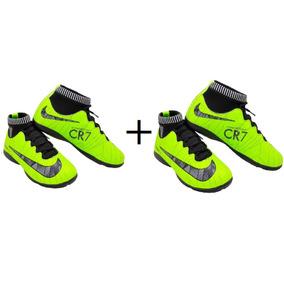 409d0c80a4a1a Chuteiras Cano Alto Nike Tamanho 34 De Futsal - Chuteiras no Mercado ...