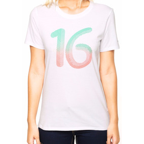 6911866966 Camiseta Nike Manga Curta Sportswear Rio16 Original