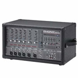 Phonic Power 620 Plus Mixer Potenciado 6ch 200w Dfx Soundgro