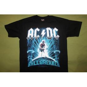 Gusanobass Playera Rock Metal Ac Dc For Ballbreaker Med