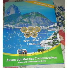 Moedas Olimpíadas/ Completa/com Album..