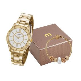 2f6f264db70 Relogio Mondaine Branco Feminino - Relógios no Mercado Livre Brasil